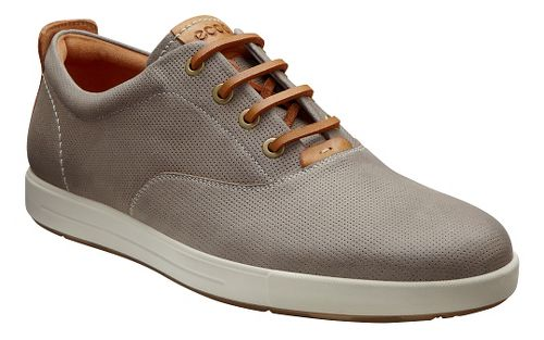 Mens Ecco Eisner Retro Sneaker Casual Shoe - Moonrock 47