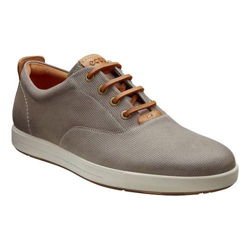 Mens Ecco Eisner Retro Sneaker Casual Shoe - Moonrock 47