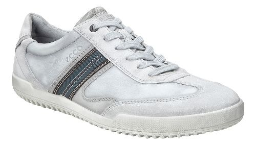 Mens Ecco Graham Retro Sneaker Casual Shoe - Concrete 44