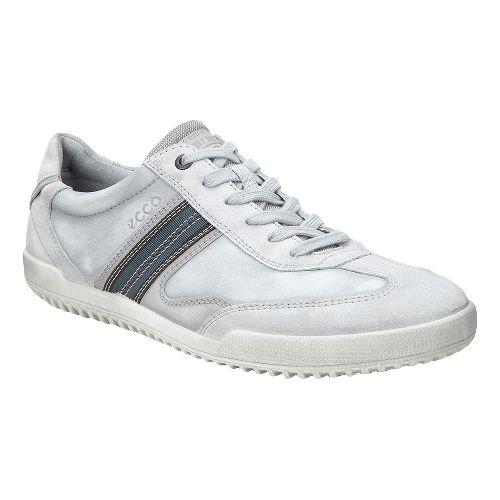 Mens Ecco Graham Retro Sneaker Casual Shoe - Concrete 43