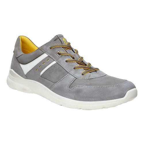 Mens Ecco Irondale Retro Sneaker Casual Shoe - Tarmac 44