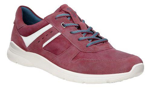 Mens Ecco Irondale Retro Sneaker Casual Shoe - Port 40