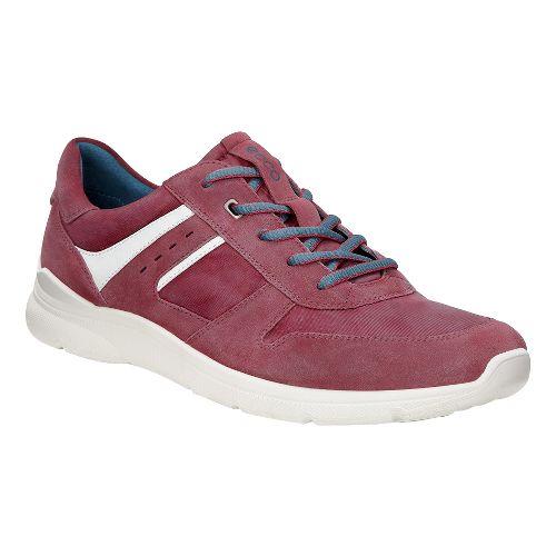 Mens Ecco Irondale Retro Sneaker Casual Shoe - Port 46