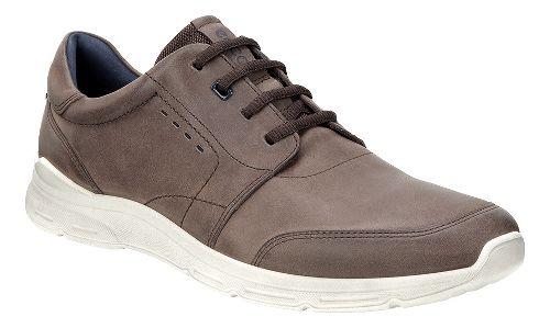 Mens Ecco Irondale Tie Casual Shoe - Coffee 46