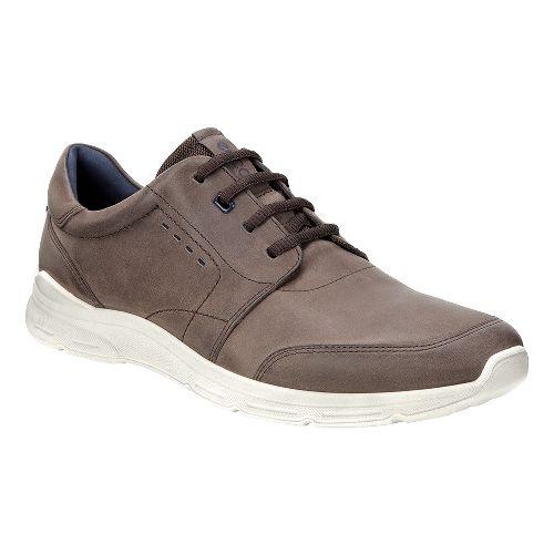 Mens Ecco Irondale Tie Casual Shoe - Coffee 39