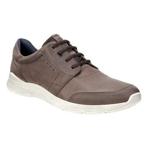 Mens Ecco Irondale Tie Casual Shoe - Coffee 43