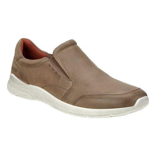 Mens Ecco Irondale Slip On Casual Shoe - Birch 46