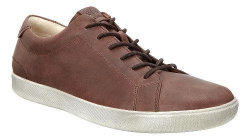 Mens Ecco Gary Tie Casual Shoe - Cognac 45