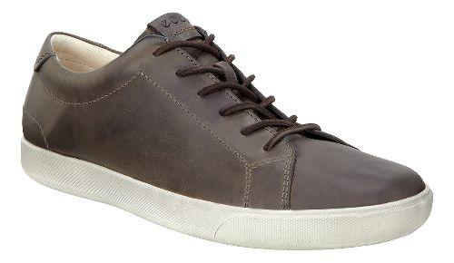 Mens Ecco Gary Tie Casual Shoe - Dark Clay 44