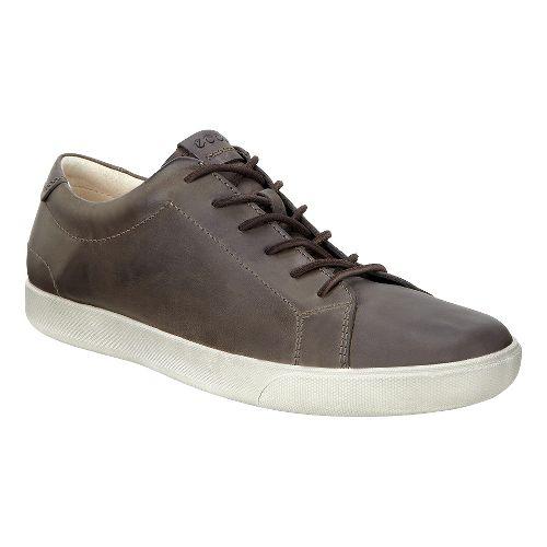Mens Ecco Gary Tie Casual Shoe - Dark Clay 42
