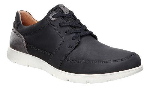 Mens Ecco Iowa Tie Casual Shoe - Black/Licorice 44