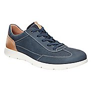 Mens Ecco Iowa Perf Tie Casual Shoe
