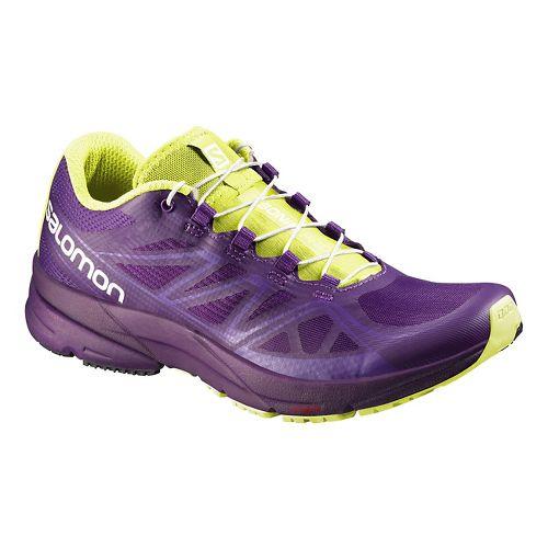 Womens Salomon Sonic Pro Running Shoe - Turquoise 9