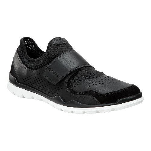 Mens Ecco Lynx Slip On Casual Shoe - Black/Black 43