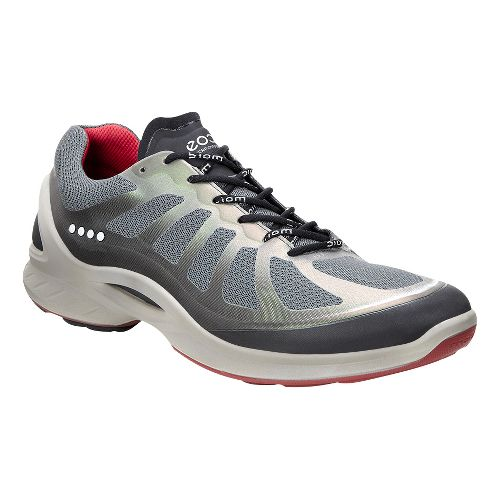 Mens Ecco BIOM Fjuel Racer Walking Shoe - Dark Shadow/Petrol 48