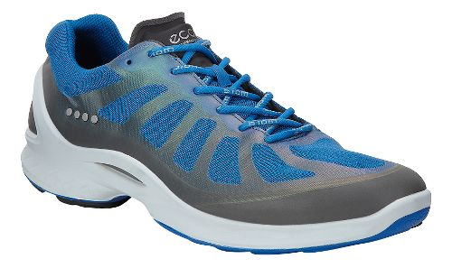 Mens Ecco BIOM Fjuel Racer Walking Shoe - Dark Shadow/Blue 46
