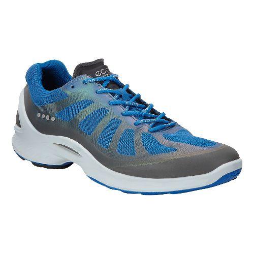 Mens Ecco BIOM Fjuel Racer Walking Shoe - Dark Shadow/Blue 45