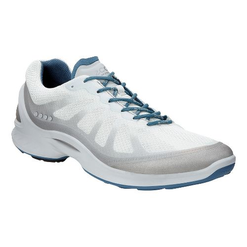 Mens Ecco BIOM Fjuel Racer Walking Shoe - Silver 48