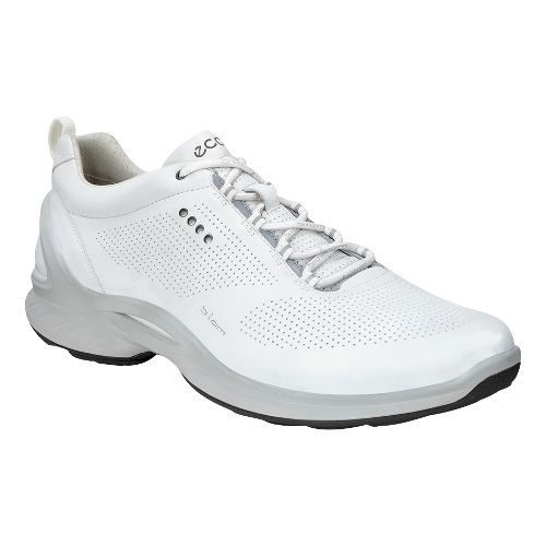 Mens Ecco BIOM Fjuel Train Walking Shoe - White 45