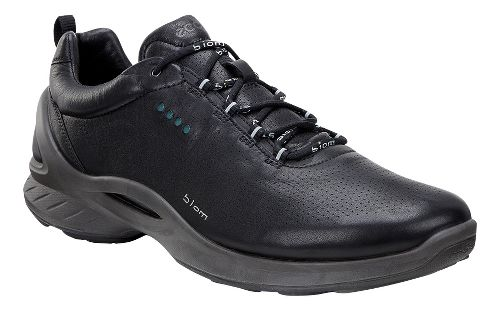Mens Ecco BIOM Fjuel Train Walking Shoe - Black/Yak Leather 40