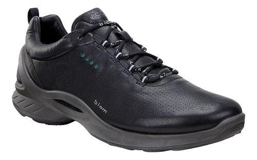 Mens Ecco BIOM Fjuel Train Walking Shoe - Black/Yak Leather 46
