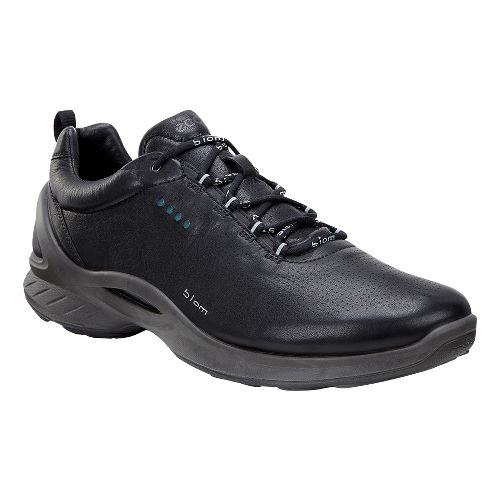 Mens Ecco BIOM Fjuel Train Walking Shoe - Black/Yak Leather 47
