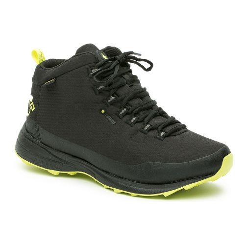 Mens Icebug Juniper GTX RB9X Running Shoe - Black/Poison 10.5