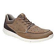 Mens Ecco Calgary Lace Casual Shoe - Birch 41