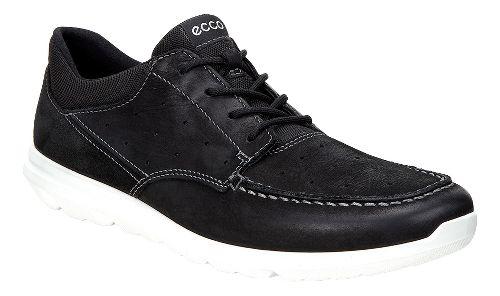 Mens Ecco Calgary Lace Casual Shoe - Black/Black 47