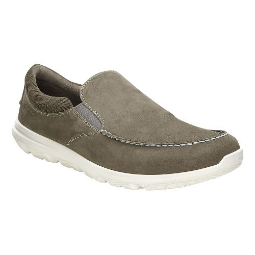 Mens Ecco Calgary Slip-On Casual Shoe - Tarmac 42