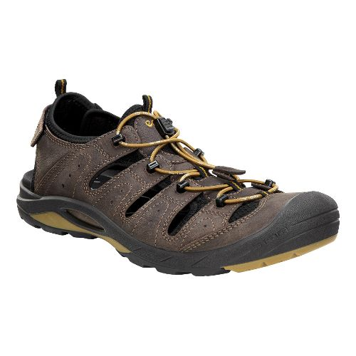 Mens Ecco BIOM Delta Offroad Casual Shoe - Coffee 45