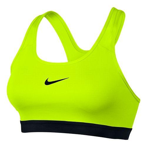 Women's Nike Pro Classics Padded Sports Bra - Volt XL