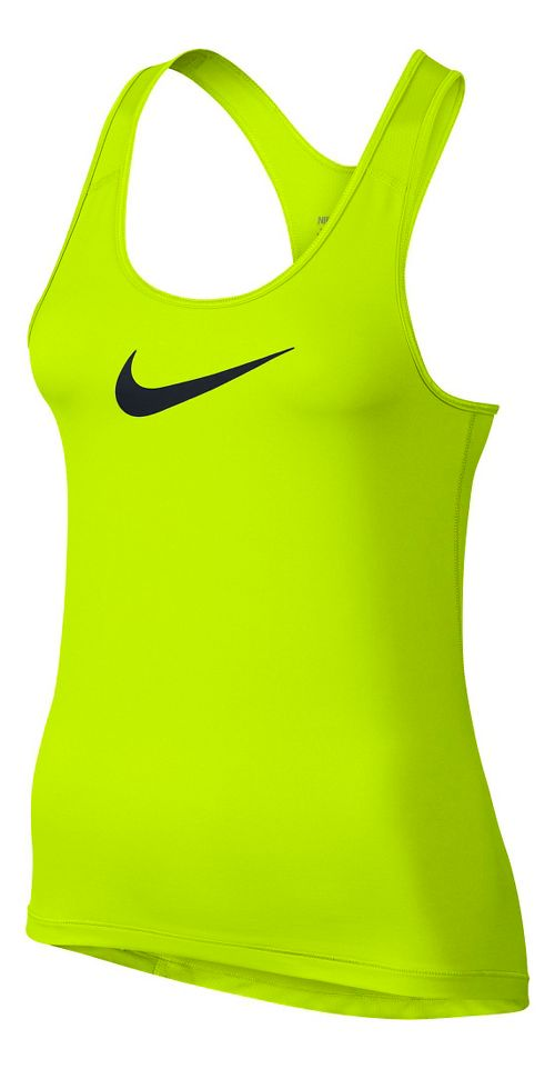 Womens Nike Pro Cool Sleeveless & Tank Technical Tops - Volt M