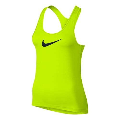 Womens Nike Pro Cool Sleeveless & Tank Technical Tops - Volt XL