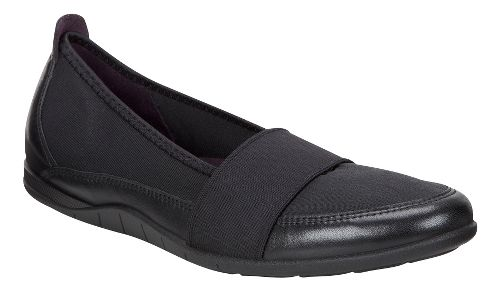 Womens Ecco Bluma Band Casual Shoe - Black/Black 37