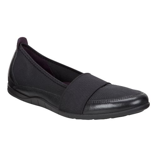 Womens Ecco Bluma Band Casual Shoe - Black/Black 42