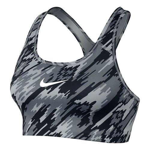 Womens Nike Pro Classic Overdrive Sports Bra - Black/White L
