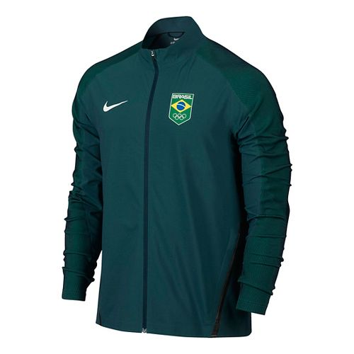 Mens Nike COB Stadium Casual Jackets - Midnight Turquoise XL