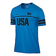 Mens Nike Dry Top Energy USA Short Sleeve Technical Tops