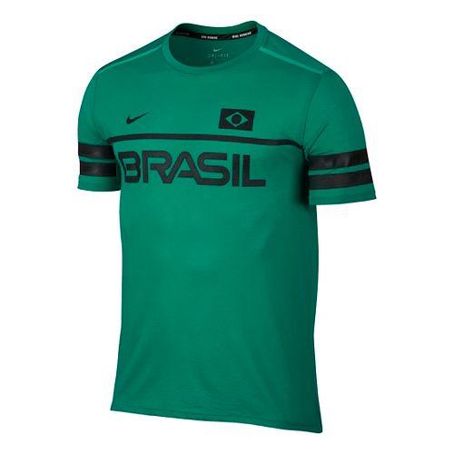 Men's Nike�Dry Top Short Sleeve Energy Brazil