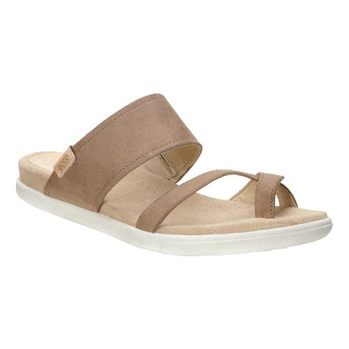 Womens Ecco Damara Sandals Shoe - Camel 39