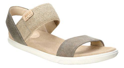Womens Ecco Damara Ankle Sandals Shoe - Warm Grey 41