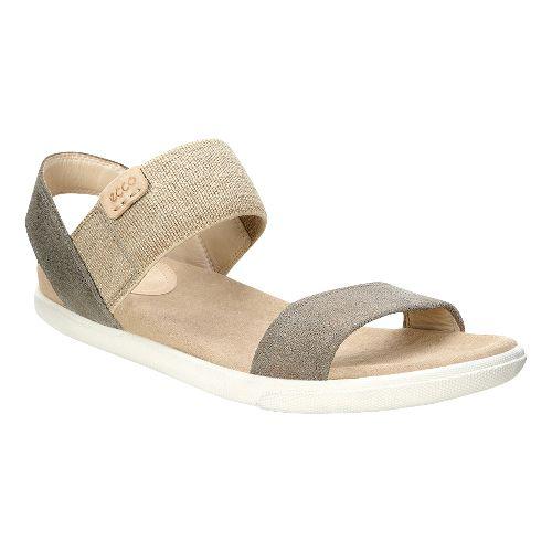 Womens Ecco Damara Ankle Sandals Shoe - Warm Grey 42