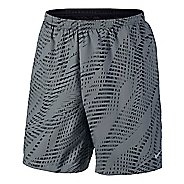 "Mens Nike Flex 7"" Distance Printed Lined Shorts"
