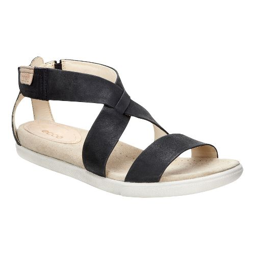 Womens Ecco Damara Strap Sandals Shoe - Black 38