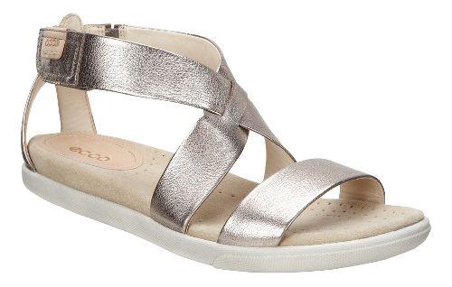Womens Ecco Damara Strap Sandals Shoe - Black 39