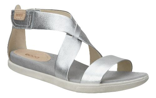 Womens Ecco Damara Strap Sandals Shoe - Warm Grey 41