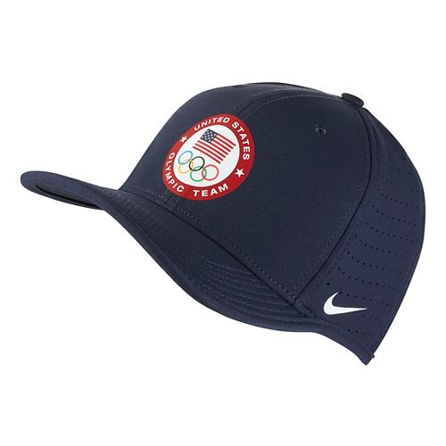 Nike Olympic USA Classic Headwear - Obsidian