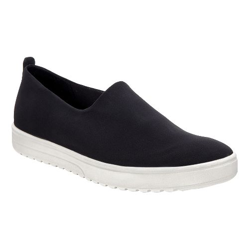 Womens Ecco Fara Slip On Casual Shoe - Black 42