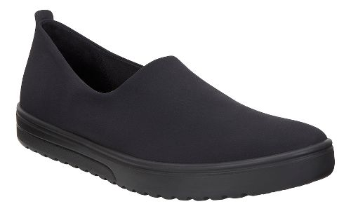 Womens Ecco Fara Slip On Casual Shoe - Black/Black 40